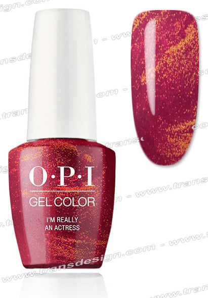 OPI GelColor - I'm Really An Actress 0.5oz.