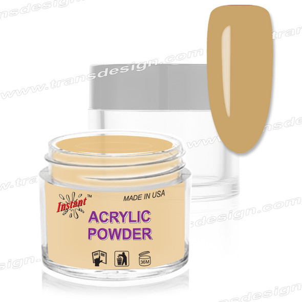 INSTANT ACRYLIC & DIP COLOR - NUDE Golden Sand  2oz.