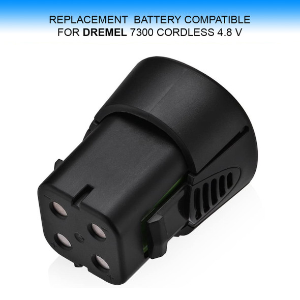 REPLACEMENT BATTERY for DREMEL 7300 4.8 Volts