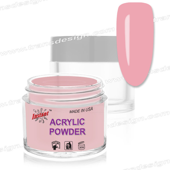 INSTANT ACRYLIC & DIP COLOR - Rose Blush 2oz.