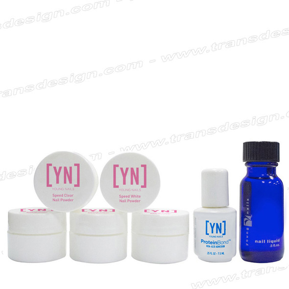 YOUNG NAILS Acrylic Trial Kit # 01041