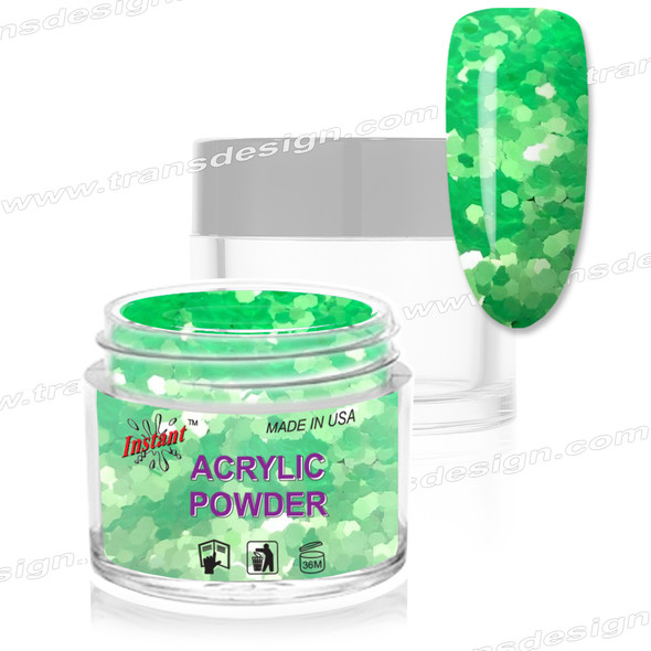 INSTANT ACRYLIC & DIP COLOR - Lucky Jade 2oz.