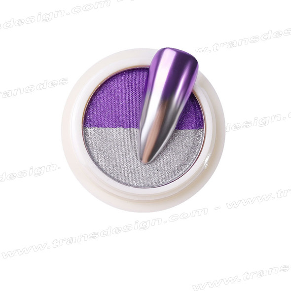 INSTANT Mirror Effect Silver & Purple #5