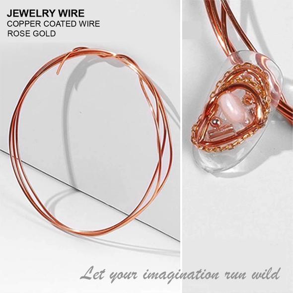 "JEWELRY WIRE Bronze 0.02"" Diameter x 40"" Length"