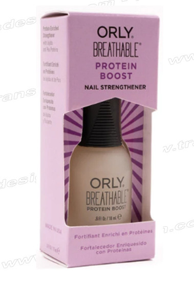 ORLY Nail Treatment Breathable Protein Boost  0.6oz #2460001