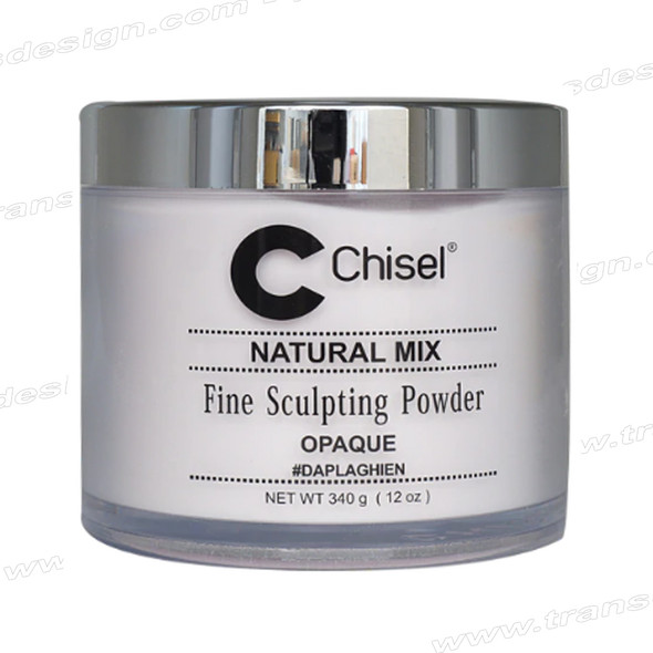 CHISEL ACRYLIC POWDER Natural Mix (Opaque) 12oz.