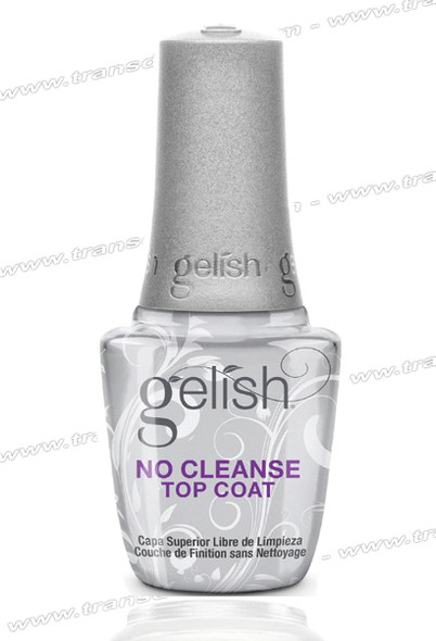 GELISH No Cleanse Top Coat 0.5oz.