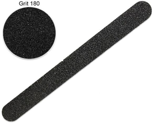 "DL  7"" Wood Core Professional Files 180/180 Grit 40/Bag"