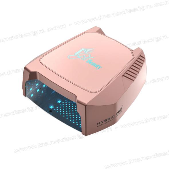 IGEL Hybrid Pro II Rechargeable UV/LED Lamp Rose Gold