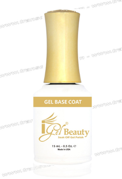 IGEL BEAUTY Gel Base Coat 0.5oz.