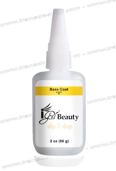 IGEL BEAUTY Dip & Dap Base Coat 2oz.