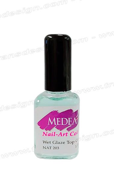 MEDEA Wet Glaze Top Coat 0.5oz.*