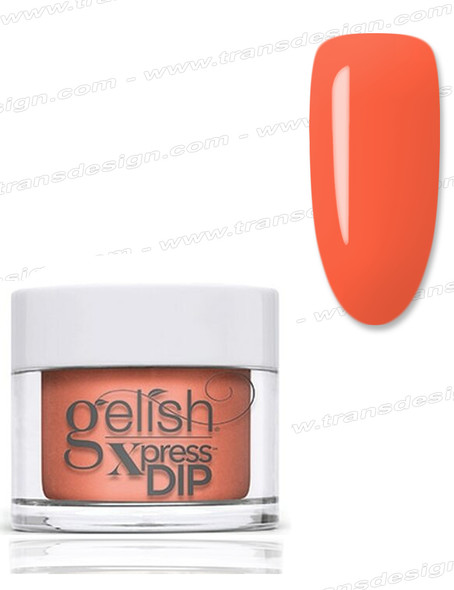 GELISH Xpress Dip Powder Orange Crush Blush 1.5oz.