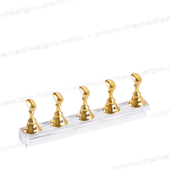 MAGNETIC Nail Art Stand Gold 5/Set