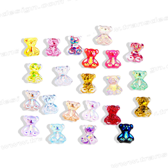 BEAR GLITTER 20 Count Color