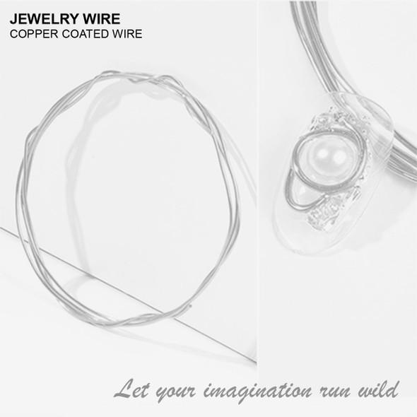 "JEWELRY ALUMINUM WIRE Silver 0.03"" Diameter x 40"" Length"