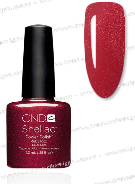 CND SHELLAC Ruby Ritz 0.25oz.