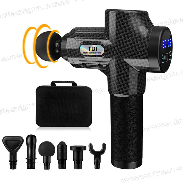 TDI Muscle Massage Gun Gray/Black with Case