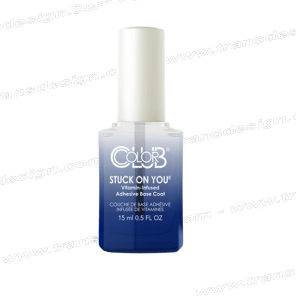 COLOR CLUB Stuck On You Adhesive Vitamin Infused Base Coat 0.5oz.