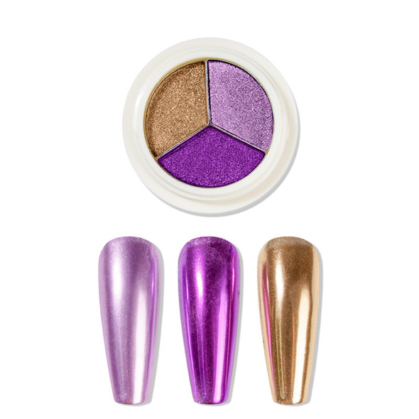 PIGMENT MIRROR Lavender/Purple/Gold #12