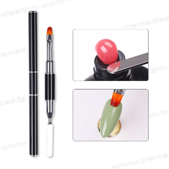 GEL BRUSH Oval #5 with Stainless Sculpting Tool