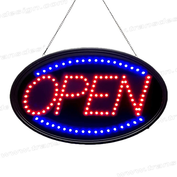 "LED SIGN ""OPEN"" Size 23"" x 14"""