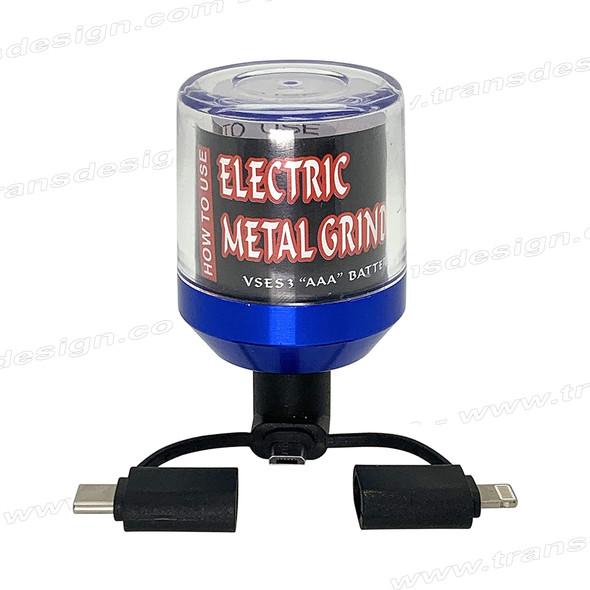 Electric USB Portbale Pocket Metal Alloy Grinder
