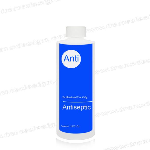 """EMPTY - Imprinted Bottle """"ANTISEPTIC"""" 16oz."""