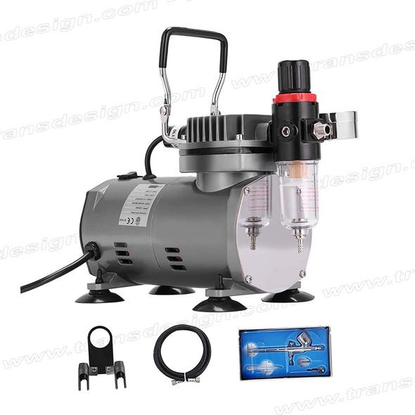 AIRBRUSH Compressor Kit with Airbrush Gun