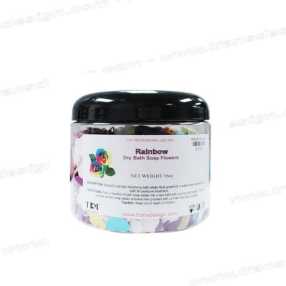TDI SPA Dry Bath Soap Flowers Rainbow 16oz