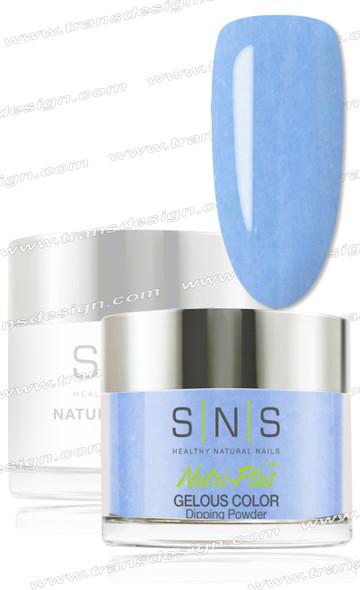 SNS Gelous Dip Powder - Great Blue Hole