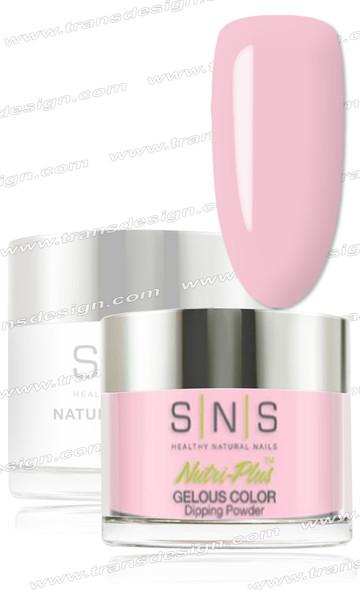 SNS Gelous Dip Powder - Rosy Pink Sapphire