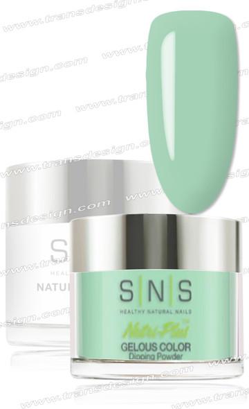 SNS Gelous Dip Powder - Green Moonstone