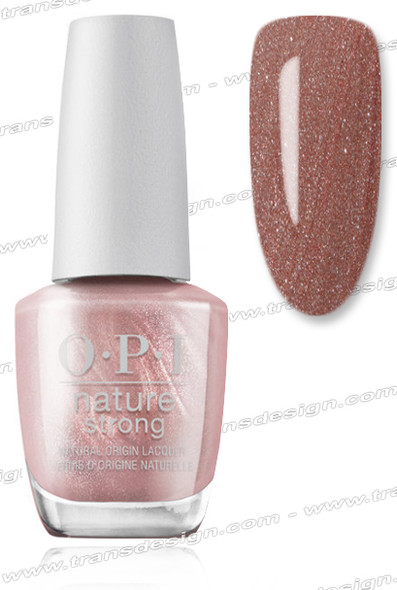 OPI Nature Strong - Intentions are Rose Gold
