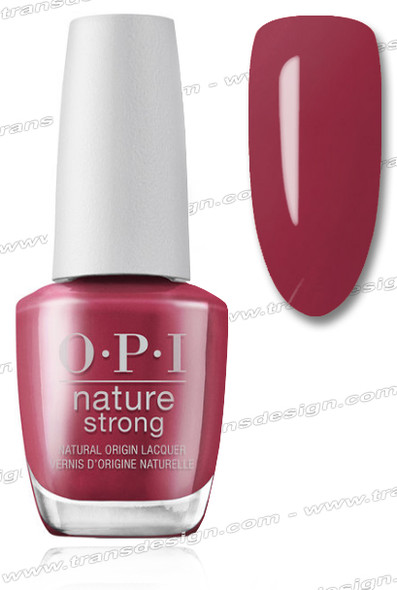OPI Nature Strong - Give a Garnet