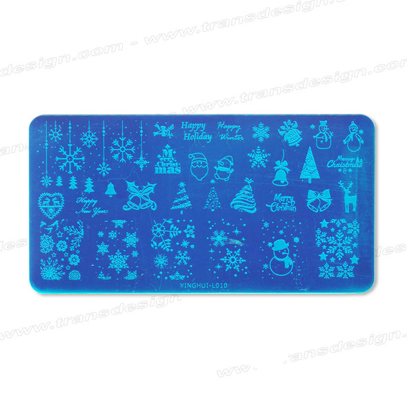 STAMPING PLATE SS Christmas YH-L010
