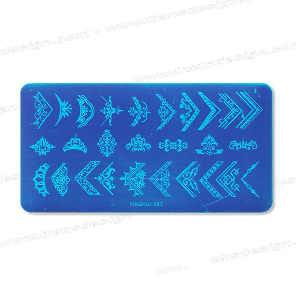 STAMPING PLATE SS Angle Design YH-083