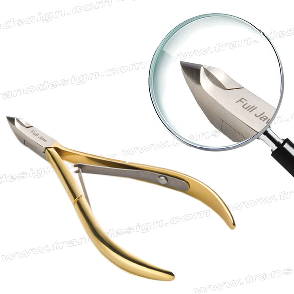NGHIA Cuticle Nipper Full Jaw, Box Joint, Double Spring #16