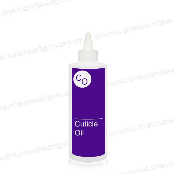 "BOTTLE Imprinted ""CUTICLE OIL"" 8oz."