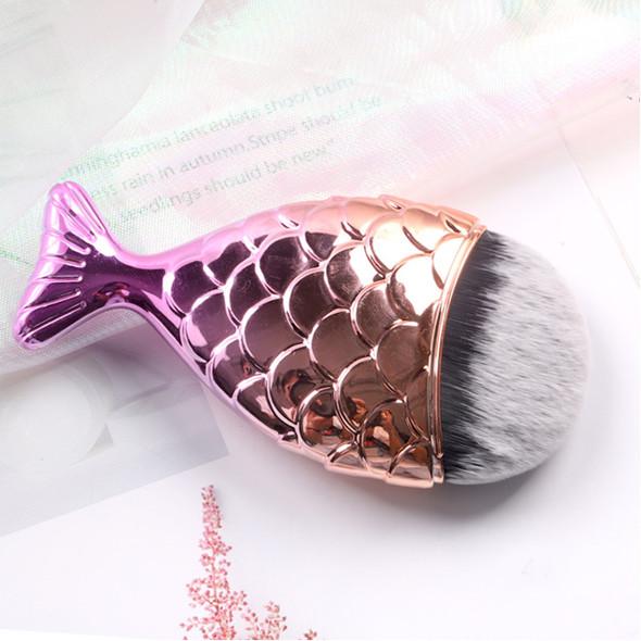 DUSTER Soft Brush Gold Mermaid/White