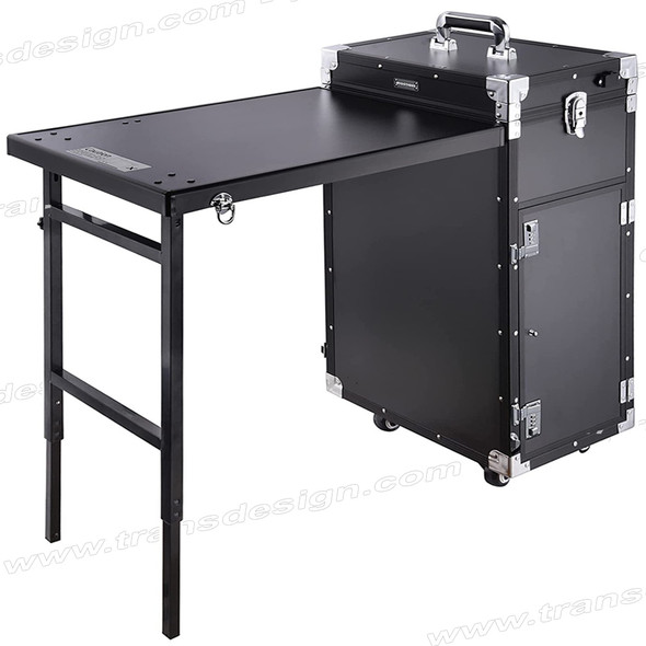 MANICURE TABLE Rolling, Black