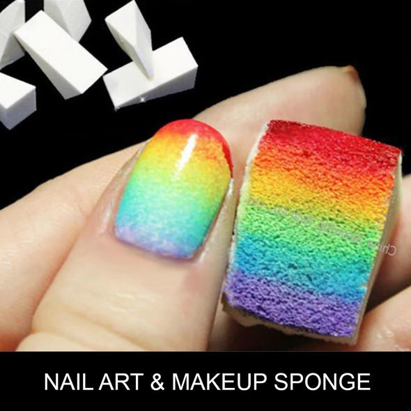 """NAIL ART & MAKEUP SPONGE Mini 1.79"""" 30/Pack"""