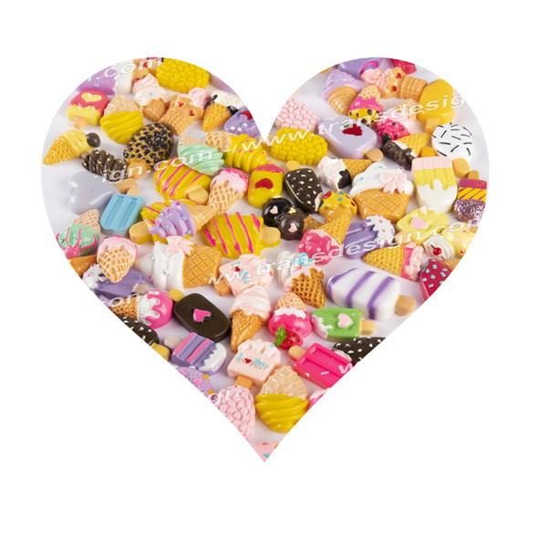 3-D DESIGN Assorted Candy Mix Color 30/Pack XF-0312-01
