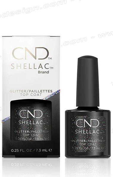 CND SHELLAC Glitter Top Coat 0.25oz.