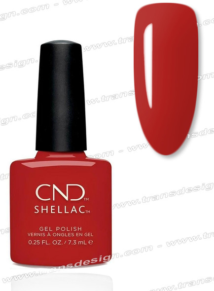 CND SHELLAC Company Red  0.25oz.