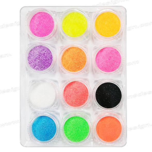 INSTANT Sugar Nail Glitter 12 Jar/Case