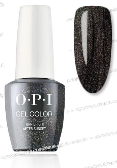 OPI GelColor - Turn Bright After Sunset  0.5oz.
