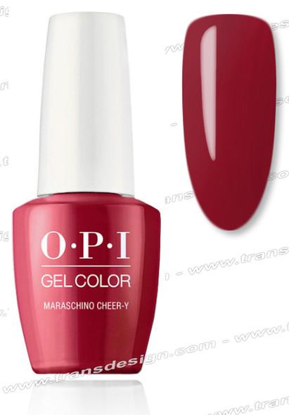 OPI GelColor - Maraschino Cheer-y 0.5oz.