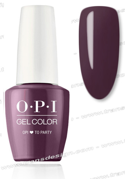 OPI GelColor - OPI ❤️ to Party 0.5oz.