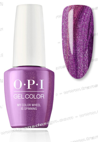 OPI GelColor - My Color Wheel is Spinning 0.5oz.